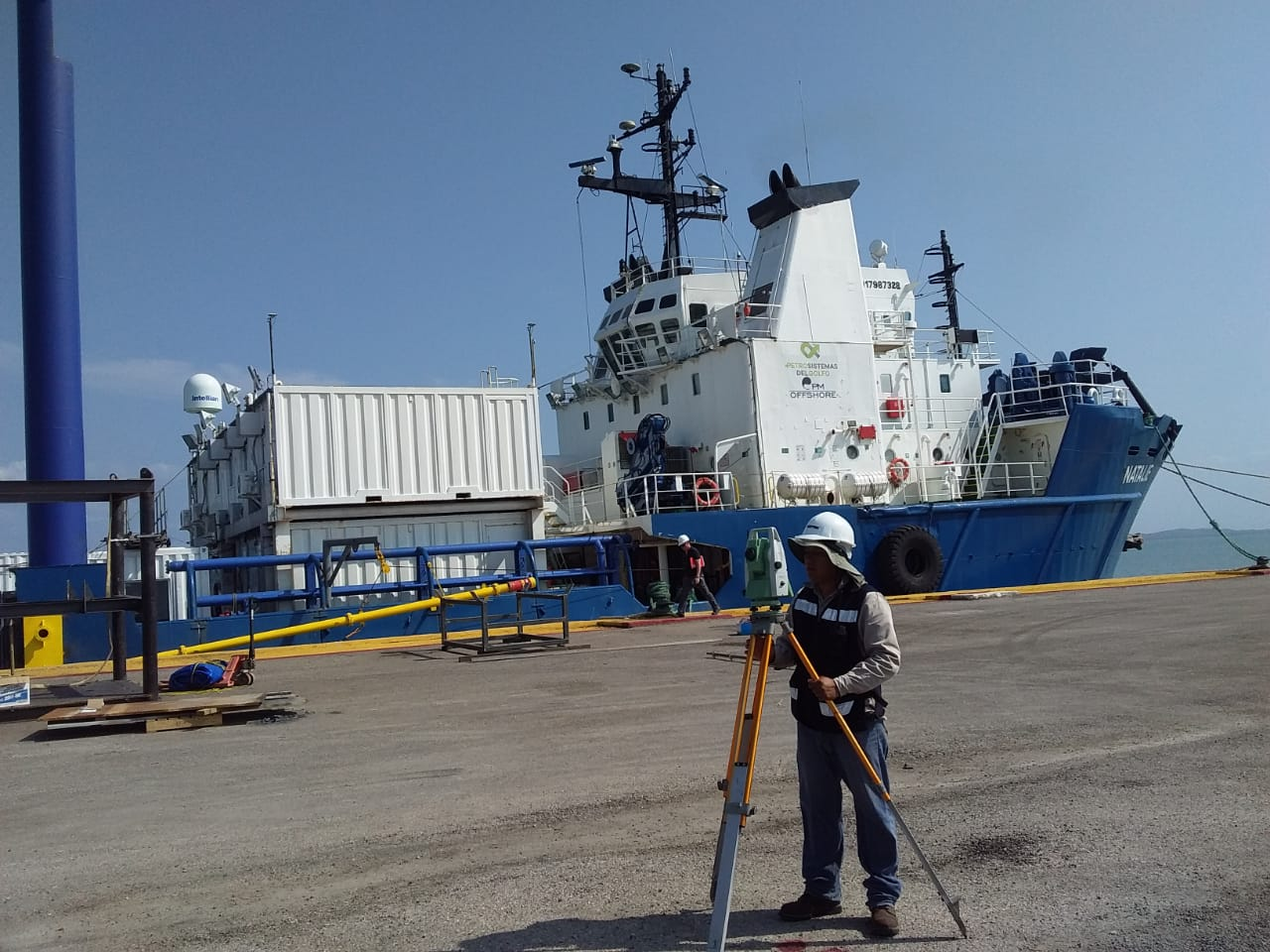 Levantamiento en barco